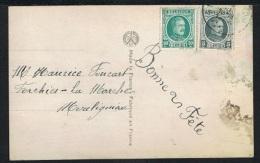 Année 1922 - COB 193 Et 194 Sur Carte Postale