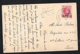 Année 1922 - COB 247 Sur Carte Postale