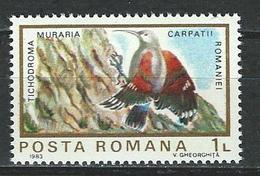Rumänien Mi 3991 ** MNH Tichodroma Muraria