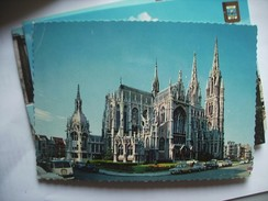 België Belgique West Vlaanderen Oostende Ostende Kerk En Auto's - Oostende