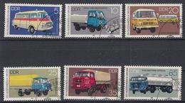 DDR - Michel - 1982 - Nr 2744/49 - Gest/Obl/Us