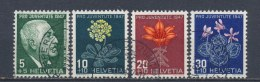 Zwitserland/Switzerland/Suisse/Schweiz 1947 Mi: 488-491 Yt: 445-448 (Gebr/used/obl/o)(1219)