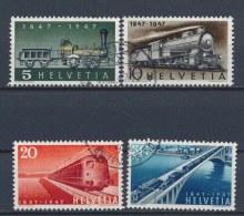 Zwitserland/Switzerland/Suisse/Schweiz 1947 Mi: 484-487 Yt: 441-444 (Gebr/used/obl/o)(1228)