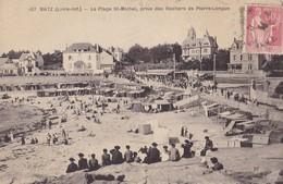 BATZ  - La Plage St Michel , Prise Des Rochers De Pierre-Longue. - Batz-sur-Mer (Bourg De B.)
