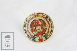 Aztec God Round Image - Pin Badge - Sin Clasificación