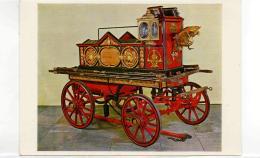 Postcard - Fire Engine 1862 London Very Good - Postkaarten