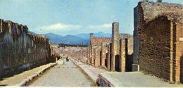 Italia - Fotografia POMPEI, VIA DELL'ABBONDANZA - PERFETTA N32 - Riproduzioni