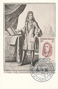 D29002 CARTE MAXIMUM CARD 1956 FRANCE - COMPOSER J.B. LULLY CP ORIGINAL - Muziek