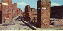 Italia - Fotografia POMPEI, VICOLO STORTO - PERFETTA N32 - Riproduzioni