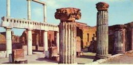 Italia - Fotografia POMPEI, IL FORO (particolare) - PERFETTA N32 - Riproduzioni