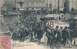 LA ROCHELLE - EMBARQUEMENT DE FORCATS ET RECIDIVISTES POUR SAINT MARTIN (GENDARMES) - La Rochelle