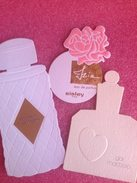 Cartes Parfumée   Lot 3 Cartes SISLEY, BOUCHERON,GAI MATTIOLO - Perfume Cards