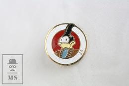 Comic Character Badge - Ciudades