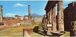 Italia - Fotografia POMPEI, TEMPIO DI APOLLO - PERFETTA N32 - Riproduzioni