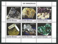 Guinea Bissau / Guinée-Bissau 2003 Minerals.S/S.MNH