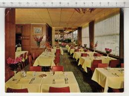 Lausanne - Buffet De La Gare CFF - Vue Partielle Du Salon Rouge Et Perspective De La Terrasse 1re Classe - Restaurants