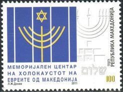 MACEDONIA 2011 Holocaust Memorial Centre Of The Jews From Macedonia MNH - Macedonië