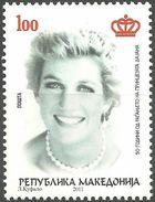 MACEDONIA 2011 The 50th Anniversary Of The Birth Of Princess Diana MNH