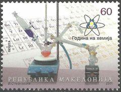 MACEDONIA 2011 Year Of Chemistry MNH