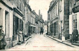 N°38365 -cpa Donzy -la Grande Rue- - France