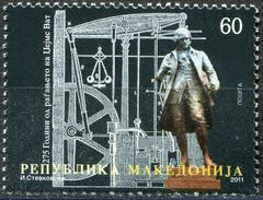 MACEDONIA 2011 The 275th Anniversary Of The Birth Of James Watt, 1736-1819 MNH