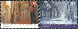 MACEDONIA 2011 EUROPA Stamps - The Forest MNH