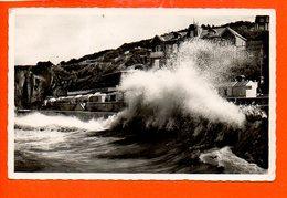 76 Veules Les Roses : La Mer En Furie (non écrite) - Veules Les Roses