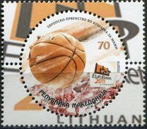 MACEDONIA 2011 European Basketball Championship - Lithuania MNH