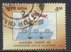 °°° INDIA - Y&T N°1644 - 2001 °°°