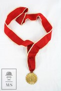 Religious Medal With Ribbon - Sacred Heart Of Jesus Religious Medal - Adveniat Regnum Tuum - Requeté - Religión & Esoterismo