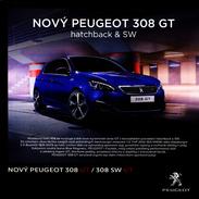 Peugeot 308 GT 04 / 2015 Catalogue Brochure Tcheque Czech - Advertising