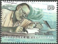 MACEDONIA 2011 The 50th Anniversary Of The Death Of Ernest Hemingway, 1899-1961 MNH