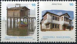MACEDONIA 2011 Architecture  MNH