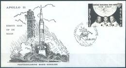 BELGIUM - FDC - 20.9.1969 - APOLLO XI - COB 1508 -  Lot 15214