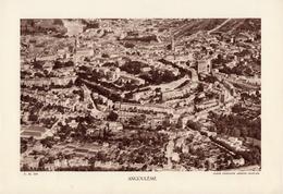 CHARENTE, ANGOULEME, Vue Générale, Planche Densité = 200g, Format 20 X 29 Cm, (C.A.F.) - Géographie