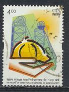 °°° INDIA - Y&T N°1654 - 2002 °°°