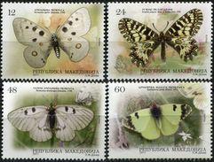 MACEDONIA 2011 Butterflies Of Macedonia MNH