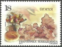 MACEDONIA 2011 Christmas - Christmas Dinner MNH