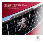 Peugeot Professional 12 / 2016 Catalogue Brochure Tcheque Vehicules De Fonction Corporate Diplomat Sales - Advertising