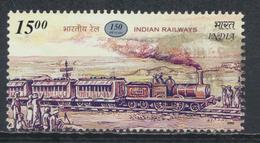 °°° INDIA - Y&T N°1664 TRAIN - 2002 °°°