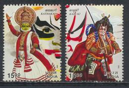 °°° INDIA - Y&T N°1665/66 - 2002 °°°