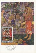 D29013 CARTE MAXIMUM CARD 1970 RAS AL KHAIMA - LA ORANA MARIA BY GAUGUIN CP ORIGINAL