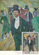 D29014 CARTE MAXIMUM CARD 1969 RAS AL KHAIMA - BY TOULOUSE-LAUTREC CP ORIGINAL