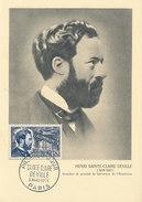 D29016 CARTE MAXIMUM CARD 1955 FRANCE - INVENTOR ALUMINIUM DEVILLE CP ORIGINAL