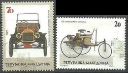 MACEDONIA 2011  First Automobiles MNH