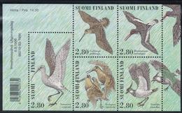 1996 Finnland, 1352/56,  Tag Der Briefmarke. Watvögel  MNH *