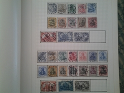Page D Album Allemagne  Timbres Reich - Timbres