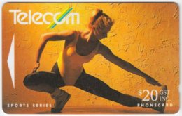 NEW ZEALAND A-405 Magnetic Telecom - Sport, Gymnastics - 112DO - Used - Nouvelle-Zélande