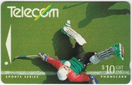 NEW ZEALAND A-467 Magnetic Telecom - Sport, Hockey - 112CO - Used - Nouvelle-Zélande