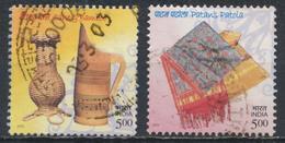 °°° INDIA - Y&T N°1696/98 - 2002 °°°